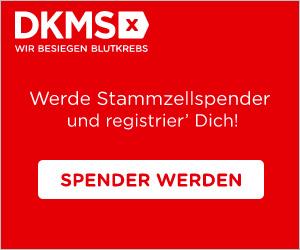 DKMS Stammzellen spenden