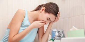 Übelkeit und niedriger Blutdruck