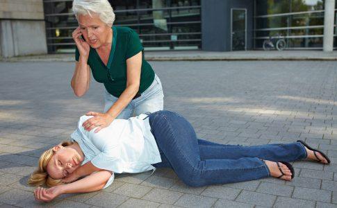 Notruf beim Herzinfarkt