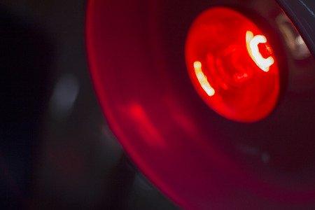 Therapie mit der Rotlichtlampe