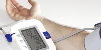 Messen des Blutdruck