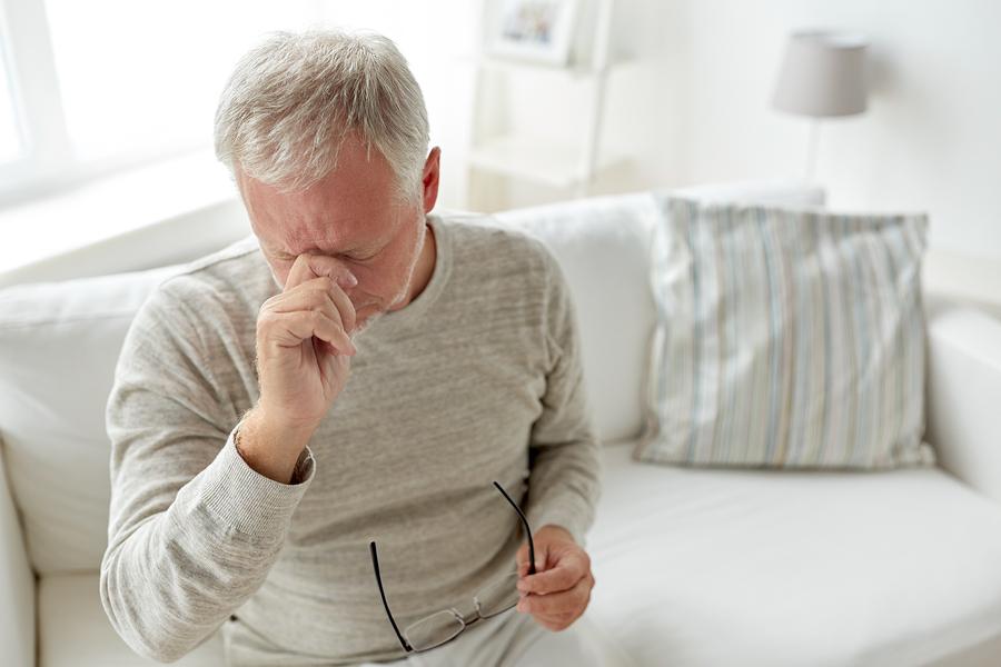 Kopfschmerzen wegen Bluthochdruck
