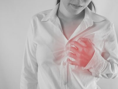 Brustschmerzen bei Herzinfarkt