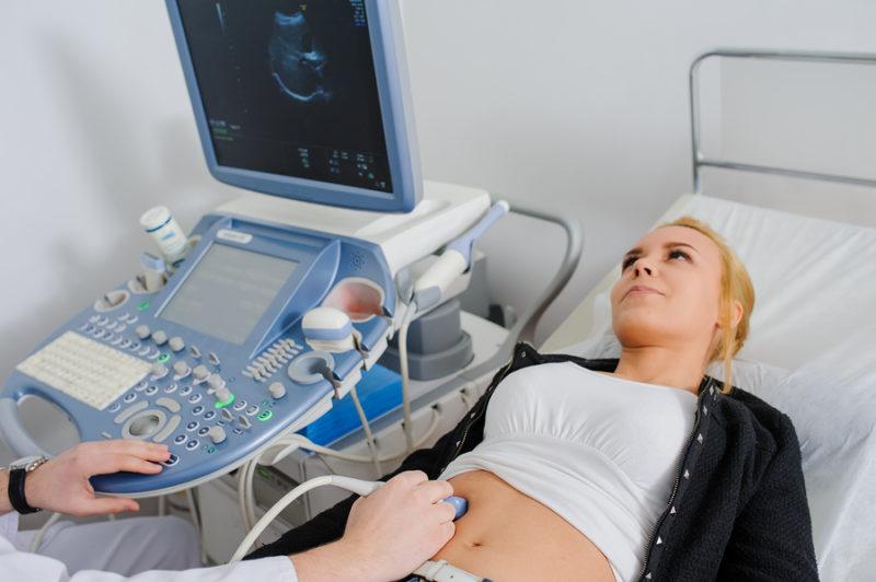 Sonographie Ultraschall Untersuchung