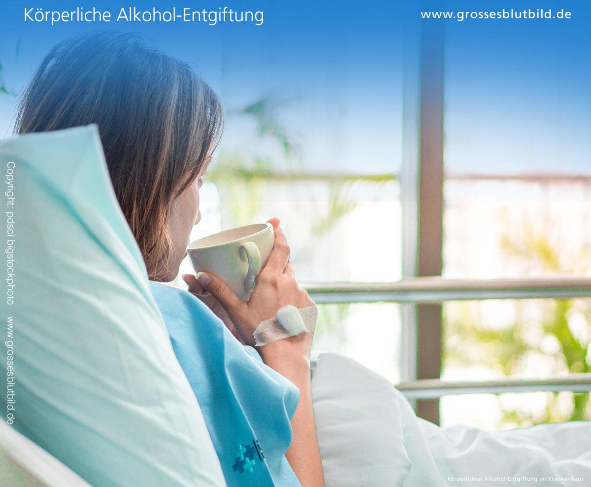 Alkohol Entgiftung im Krankenhaus