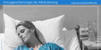Alkoholentzug Symptome
