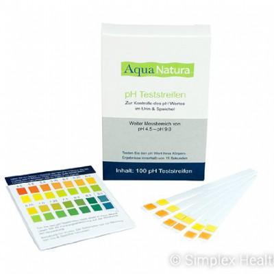 AquaNatura-pH-Teststreifen-100-Stck-Urin-Speichel-0
