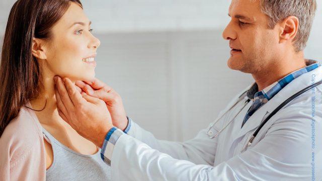 Lymphknoten Untersuchung