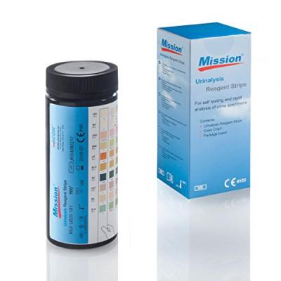 Urinteststreifen-Mission-11-100-Urinanalysestreifen-Schnelltest-auf-11-Parameter-0