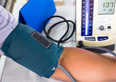 Niedriger Blutdruck