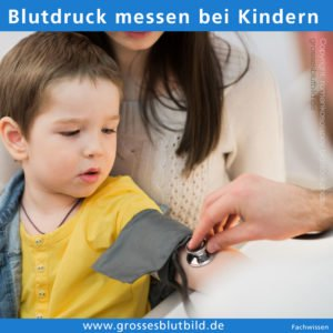 Blutdruckwerte bei Kinder