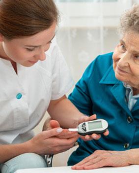 Blutwerte messen bei Diabetes