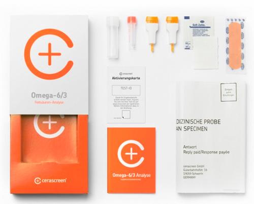 Omega-6/3-Analyse Tests für Zuhause