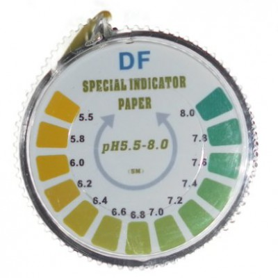pH-Indikator-Lackmus-Test-Papier-Streifen-Roll-55-8-Fr-Wasser-Urin-und-Speichel-5-Meter-0