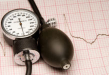 unterer Blutdruckwert erhöht